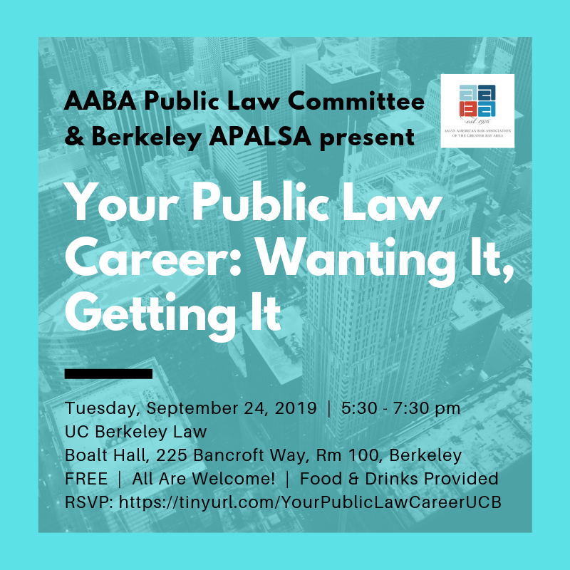 Berkeley Law Academic Calendar.Asian American Bar Association Of The Greater Bay Area Your Public