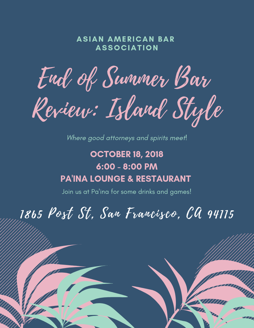 Asian American Bar Association of the Greater Bay Area - Events